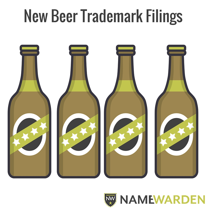 New Beer Trademark Filings